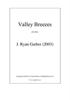 Valley Breezes: Valley Breezes by J. Ryan Garber