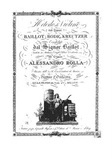 Metodo di Violino: Metodo di Violino by Pierre Baillot