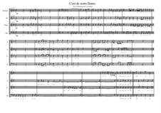 C'est de notre Dame. Choir piece on the lyrics of Rutebeuf, MVWV 42: C'est de notre Dame. Choir piece on the lyrics of Rutebeuf by Maurice Verheul
