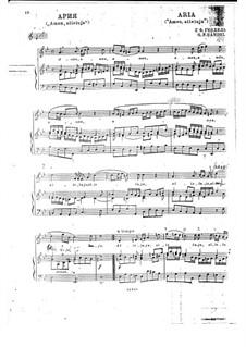 Amen, alleluja: Piano-vocal score by Georg Friedrich Händel