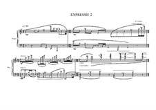 Expression No.2 for piano, MVWV 64: Expression No.2 for piano by Maurice Verheul
