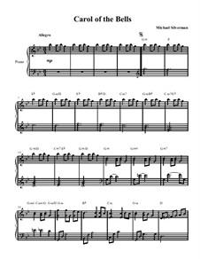 Carol of the Bells: Carol of the Bells by Michael Silverman