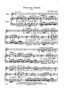 Pentecost Cantata: Aria 'My Heart Ever Faithful' by Johann Sebastian Bach
