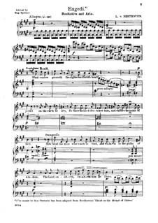Christus am Ölberge (Christ on the Mount of Olives), Op.85: Recitative and Aria 'Praise Ye Jehovah's Goodness' by Ludwig van Beethoven