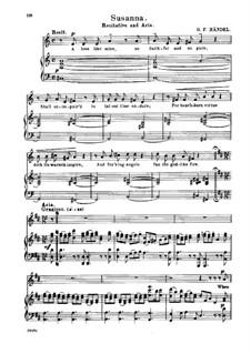 Susanna, HWV 66: When First I Saw My Lovely Maid by Georg Friedrich Händel