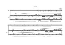 Song for Bass and piano No.3 on a poem of Maurice Bouchor, MVWV 186: Song for Bass and piano No.3 on a poem of Maurice Bouchor by Maurice Verheul