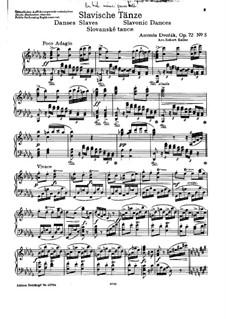 Book II: For piano by Antonín Dvořák
