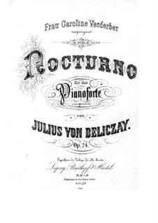 Nocturne, Op.24: Nocturne by Gyula Beliczay