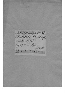 Quartet for Strings and Basso Continuo in A Minor, TWV 43:a5: Quartet for Strings and Basso Continuo in A Minor by Georg Philipp Telemann