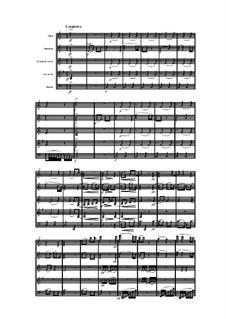 Woodwind Quintet in C Minor, Op.91 No.6: Movement II by Anton Reicha