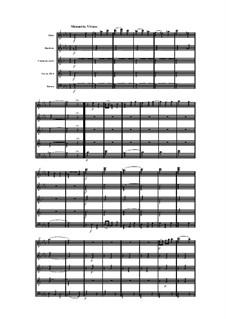Woodwind Quintet in C Minor, Op.91 No.6: Movement III by Anton Reicha