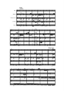 Woodwind Quintet in B Flat Major, Op.100 No.6: Movement IV by Anton Reicha