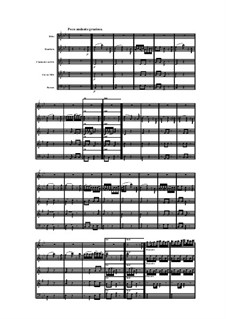 Woodwind Quintet in E Flat Major, Op.88 No.2: Movement III by Anton Reicha