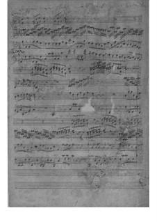 Sinfonia in F Major, SeiH 209 Hwv IV:4: Sinfonia in F Major by Johann David Heinichen
