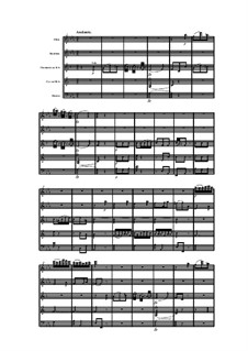 Woodwind Quintet in B Flat Major, Op.88 No.5: Movement II by Anton Reicha