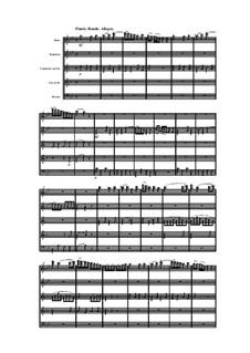 Woodwind Quintet in B Flat Major, Op.88 No.5: Movement IV by Anton Reicha