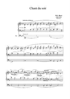 Chant du soir, Op.92 No.1: Chant du soir by Marco Enrico Bossi