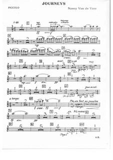 Journeys: Orchestral parts by Nancy Van de Vate