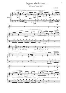 Ingrata Lidia, RV 673: Ingrata si mi svena by Antonio Vivaldi