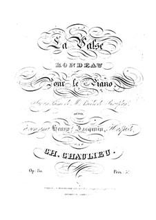 Waltz, Op.80: Waltz by Charles Chaulieu