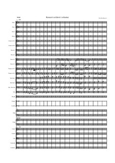 Concerto for Piano and Orchester: Movement I by Dino Residbegovic