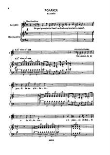 Aria di Radames: For voice and piano by Giuseppe Verdi