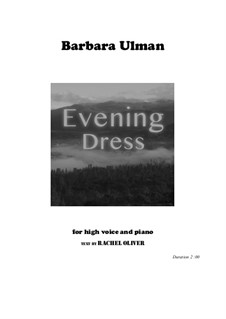 Evening Dress: Evening Dress by Barbara Ulman