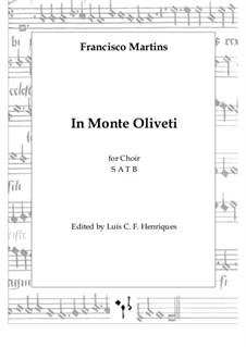 In Monte Oliveti: In Monte Oliveti by Francisco Martins