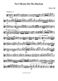 New Mexico On The Horizon: Viola part by Matthew Ellis