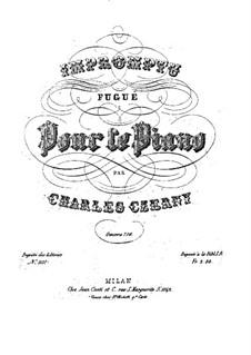 Impromptu Fugué, Op.776: Impromptu Fugué by Carl Czerny