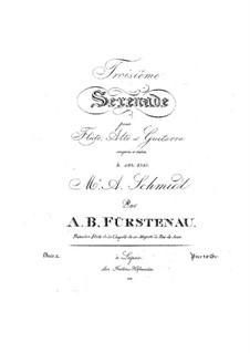 Serenade for Flute, Viola and Guitar No.3, Op.10: Serenade for Flute, Viola and Guitar No.3 by Anton Bernhard Fürstenau