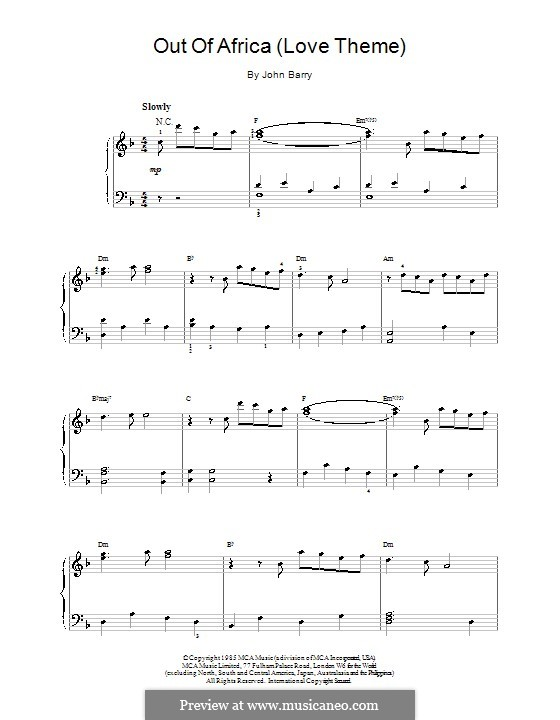 Africa Piano Sheet Music Antaexpocoaching