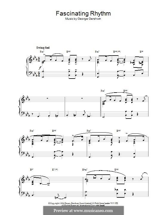 Fascinating Rhythm: For piano (Vinicius De Moraes) by George Gershwin