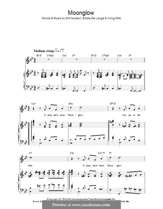 Moonglow Song Chords