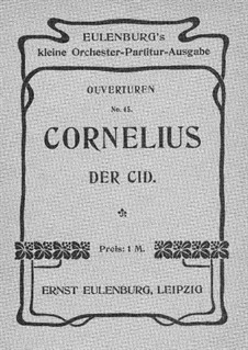 Cid: Overture by Peter Cornelius
