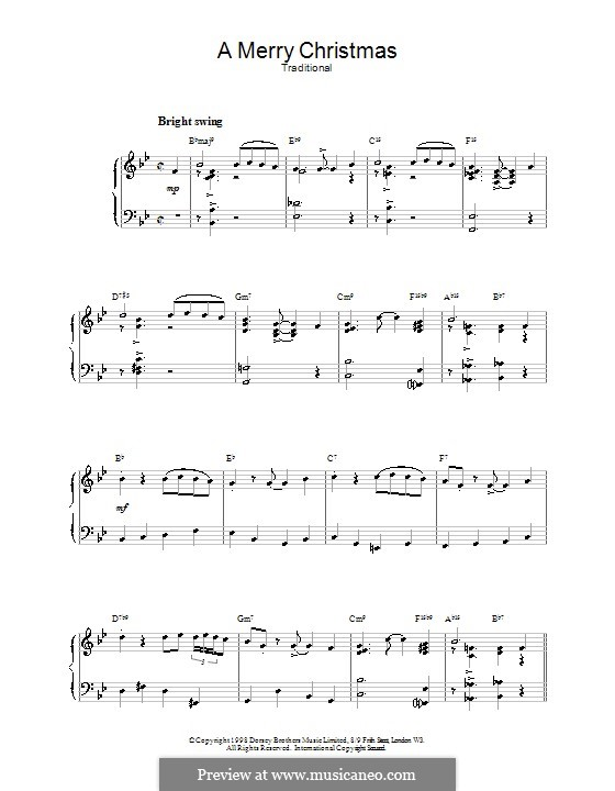 A Merry Christmas (jazzy arrangement): A Merry Christmas (jazzy arrangement) by folklore