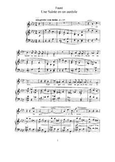 La bonne chanson, Op.61: Complete set by Gabriel Fauré