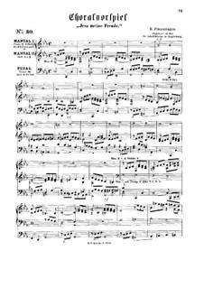 Choral Prelude 'Jesu meine Freude': Choral Prelude 'Jesu meine Freude' by Ludwig Hermann Otto Finzenhagen