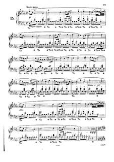 No.15 in D Flat Major: For piano (with fingering) by Frédéric Chopin