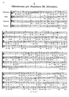 Offertorium pro Dominica III. Adventus. Benedixisti Domine, K.150: Offertorium pro Dominica III. Adventus. Benedixisti Domine by Johann Fux