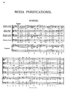 Missa Purificationis, K.28: Missa Purificationis by Johann Fux