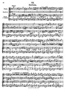 Symphony in F Major: Symphony in F Major by Johann Fux