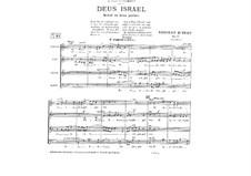 Deus Israel, Op.41: Deus Israel by Vincent d' Indy