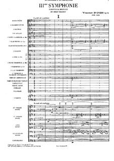 Symphony No.3, Op.70: Symphony No.3 by Vincent d' Indy