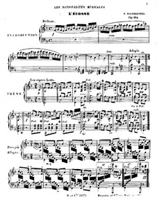 Les nationalités musicales, Op.184: Les nationalités musicales by Friedrich Kalkbrenner