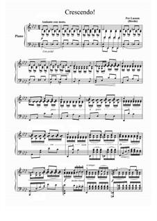 Crescendo: For piano by Per Lasson