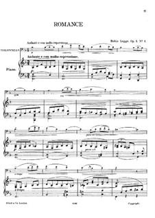 Romance, Op.1 No.1: Romance by Robin Humphrey Legge