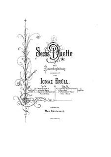 Three Duets, Op.75: Three Duets by Ignaz Brüll