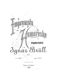 Two Piano Pieces, Op.7: No.2 Humoresque by Ignaz Brüll