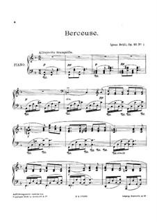 Three Piano Pieces, Op.93: Three Piano Pieces by Ignaz Brüll